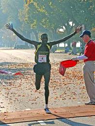 Wilson Komen Winning a Road Race