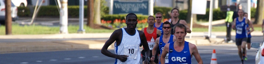 Wilson Komen in Mid-Race
