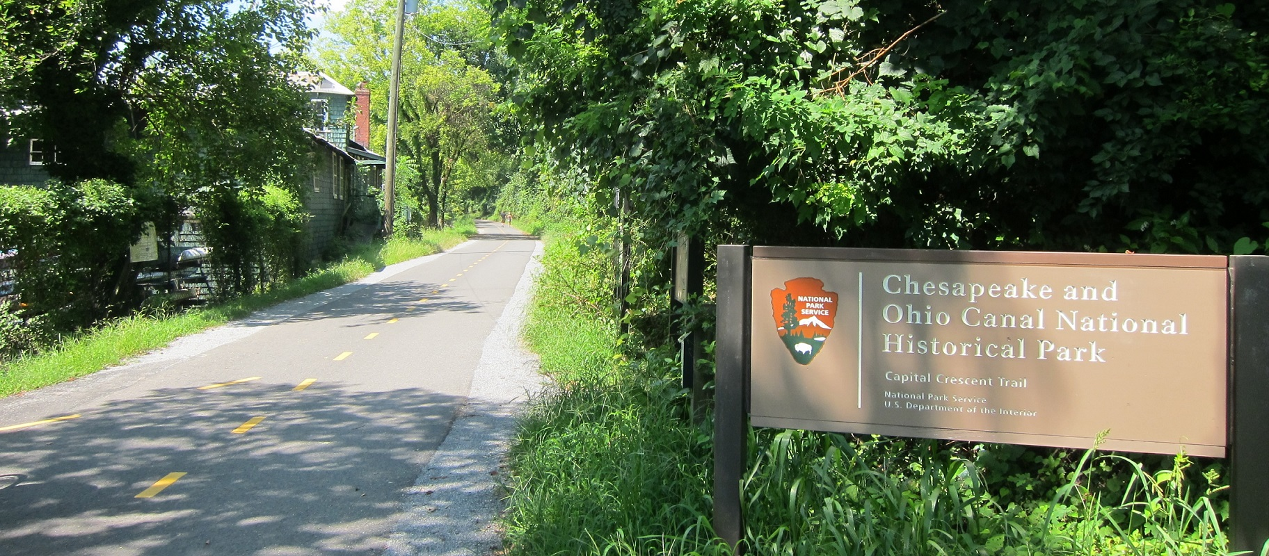 Capital Crescent Trailhead in Georgetown DC